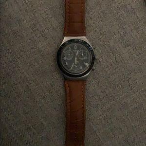 Mens Swatch watch. Needs new battery. Beautiful.